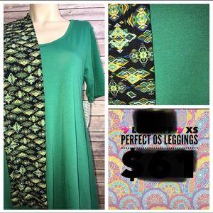 NWT 2 piece LuLaRoe outfit top and leggings